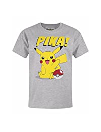 Pokemon Childrens/Kids Unisex Official Pika T-Shirt