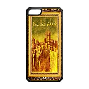 Downton Abbey Solid Rubber Customized Cover Case for iPhone 5c 5c-linda359