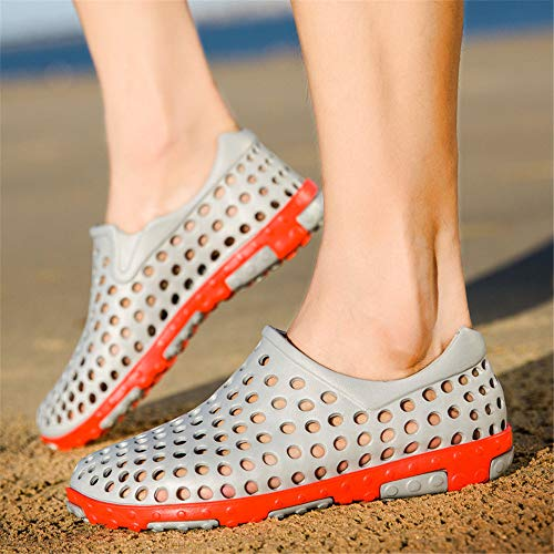 Dry a Unisex Sandali da piedi atletici Scarpe giardino nudi Summer Gray Water Beach Quick Shoes PrTw5Pq
