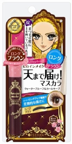 Kiss Me Heroine Make Long & Curl Mascara Brown