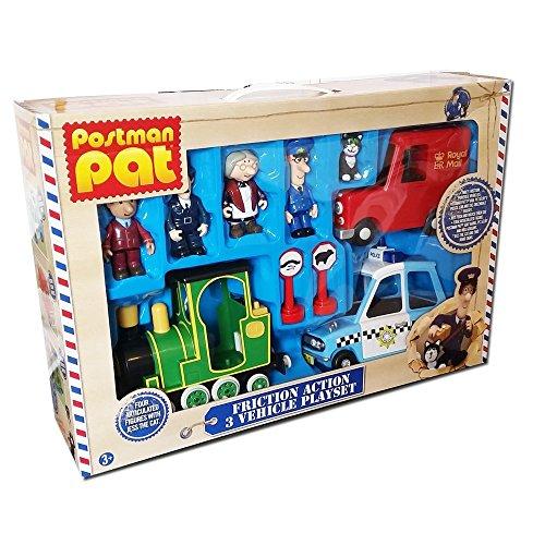 Postman Pat SDS Figures /_ Postman Pat Motorbiker /_