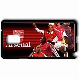 Personalized Samsung Note 4 Cell phone Case/Cover Skin Arsenal exclusive Black