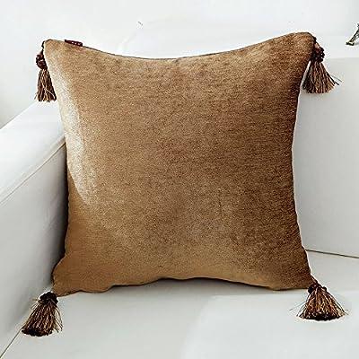 Tejido de lino ChengBao sofá cojín almohada unión sólida ...
