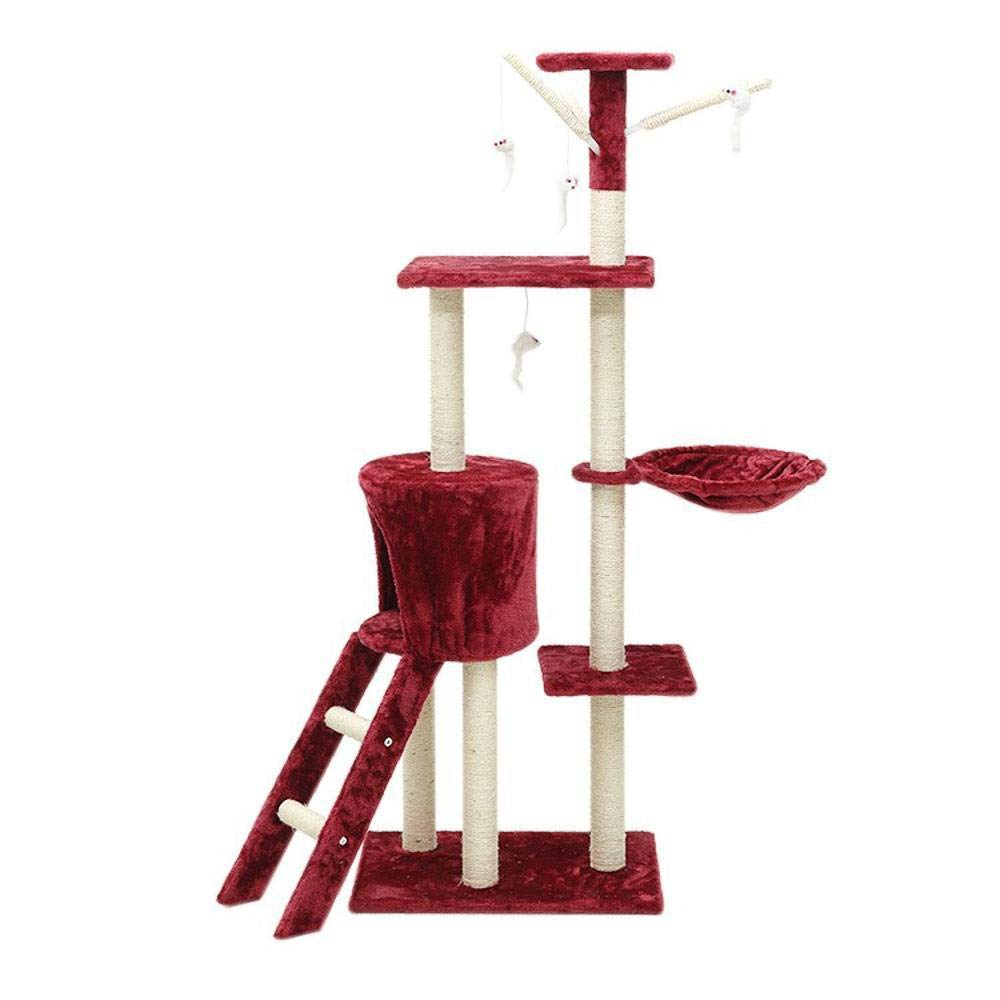C Axiba Play Towers Trees for Cats Sisal Corrugated Cat Scratch Board sisal cat cat Nest Cat Toy 50  35  138cm