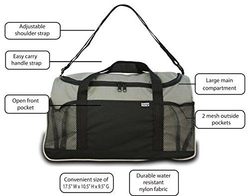 Ensign Peak Everyday Duffel Bag, Gray