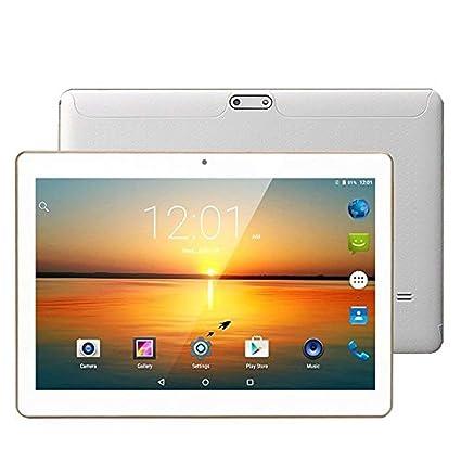 10,1 Tablet Android, 3 G Dual de Ranuras de Tarjeta SIM, procesador Octa Core, 2 GB DDR3, 32 GB de Memoria, Apoyo Netflix Youtube GPS Blanco