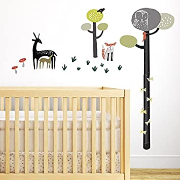 Amazon.com : Wee Gallery Removable Growth Chart, Height Measurement ...
