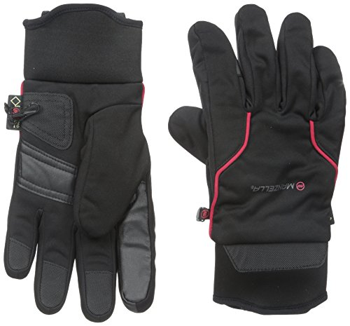 Manzella Men's All Elements Gore-TEX 5.0 Touch Tip Gloves, Black, Large