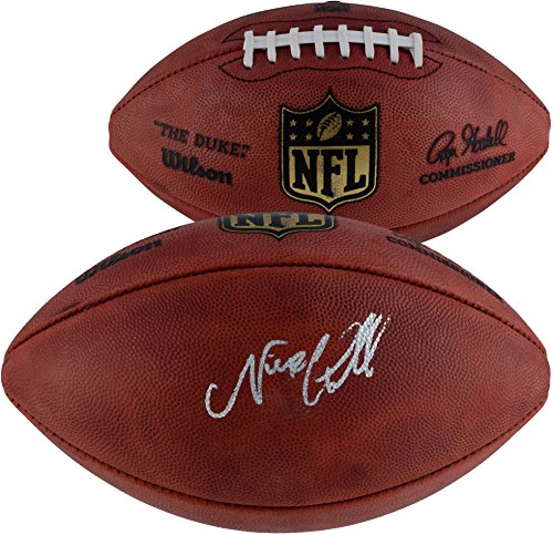 Nick Chubb Cleveland Browns Autographed Duke Pro Football - Fanatics Authentic Certified - Autographed - Football Autographed Brown