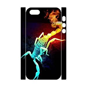 ALICASE Diy Customized Case Scorpion 3D Case for iPhone 5,5S [Pattern-1]