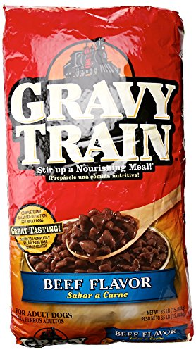 Gravy35LB Beef Dog Food (Gravy Train Beef Flavor)