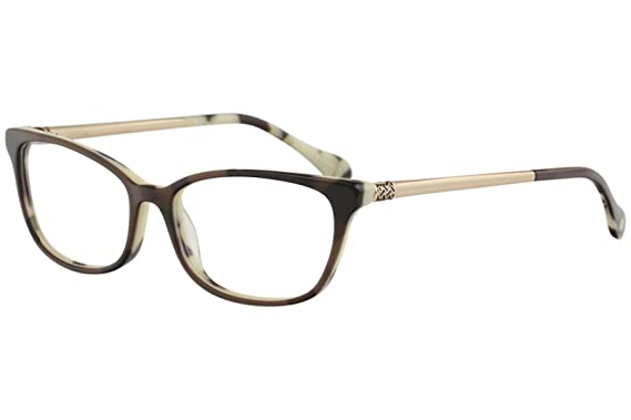 9b0693bf2fb Lilly Pulitzer Women s Eyeglasses Finsbury CC Chocolate Chip Optical Frame  54mm
