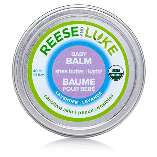 Reese and Luke's - Shea Butter Baby Balm, 1.3 fl oz, Lavender Scented -- Diaper Cream - Natural Certified Organic 627843228899