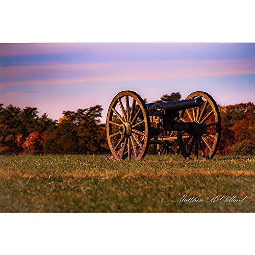 Manassas Virginia Battlefield Civil War Cannon - Battlefield Photograph