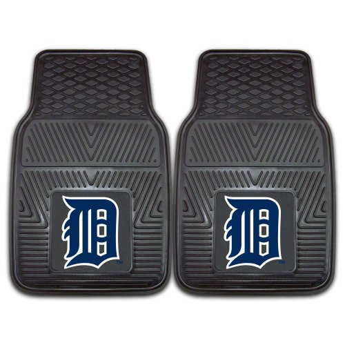 Detroit Tigers Floor Rug (FANMATS MLB Detroit Tigers Vinyl Heavy Duty Car Mat)