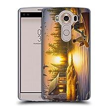 Official Chuck Black Best Friends Forever Cabin Soft Gel Case for LG G3 S / G3 Beat / G3 Vigor