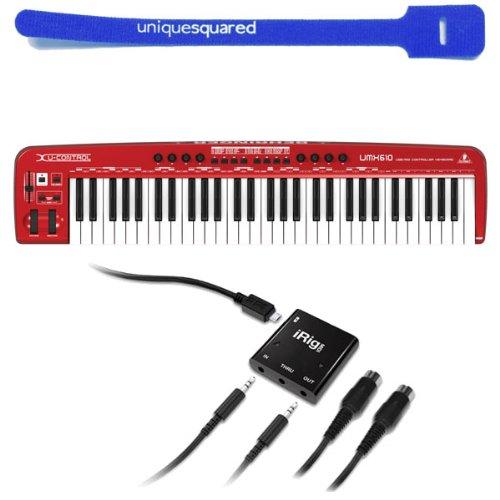 Galleon - Behringer UMX610 UMX 610 USB MIDI Keyboard