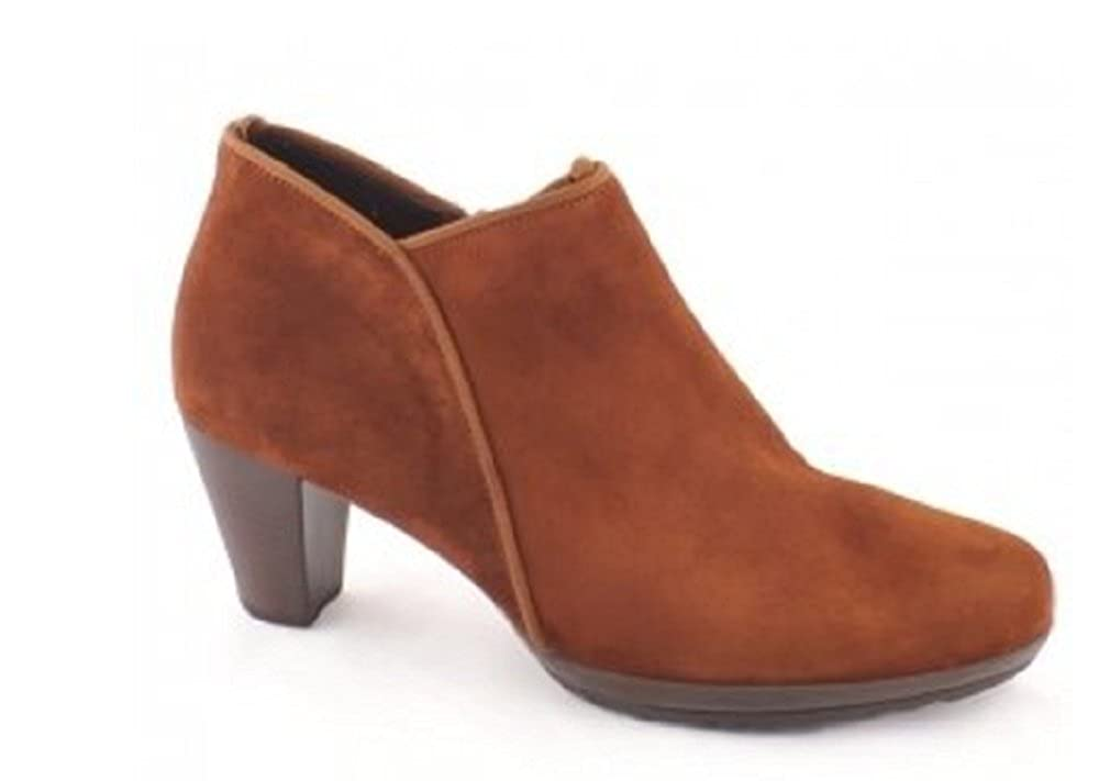 Gabor  POTENT  Wildleder Ranch Rusty Tan Braun Blockabsatz Schuh Stiefel