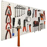 Panneaux muraux de rangement pour outils + crochets OSE