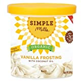 Simple Mills Frosting Vanilla organic with coconut oil (10 0Z)
