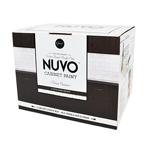 Nuvo Cocoa Couture Cabinet Paint Kit (Best Paint Color For Espresso Cabinets)