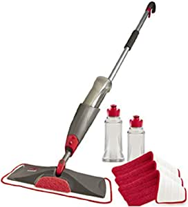 FG1M1900RED Rubbermaid Reveal Spray Mop Replacement Wet Mopping Microfiber Pad