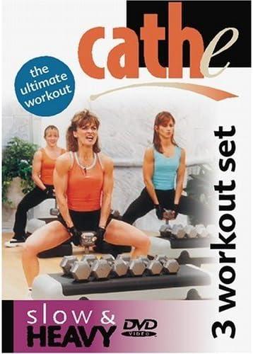 Cathe Friedrich's Slow & Heavy (3 exercises on one DVD)