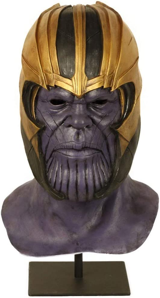 Ani·Lnc Marvel Avengers Casco, Máscaras Thanos Cosplay Máscara de ...