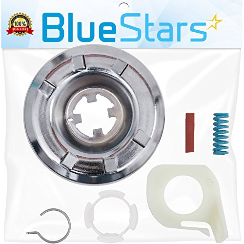 Ultra Durable 285785 Washer Clutch Kit Replacement by Blue Stars - Exact Fit for Whirlpool & Kenmore Washers - Simple Instruction Included - Replaces 285331, 3351342, 3946794, 3951311, AP3094537 (Kenmore Clutch Washer)