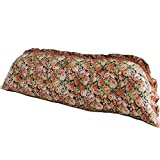 cotton Korean large backrest / princess wind cotton long pillow / active printing three-dimensional sofa pillow / holiday gift ( Size : 15053cm , Style : Fillet )