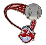 aminco MLB Cleveland Indians Glitter Trail Pin