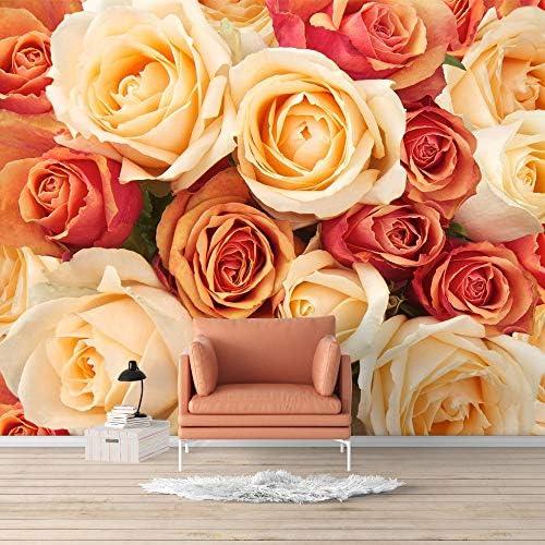 Wall Mural Elegant Rose Flower Floral Photo Removable