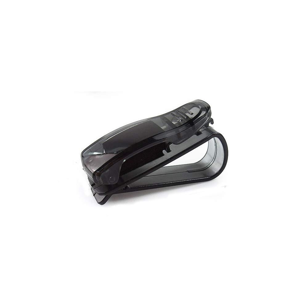 Fliyeong Portable Car Glasses Folder S-Type Glasses Clip Glasses Sunglasses Ticket Clip Holder Cash Money Card Holder 1 Pcs