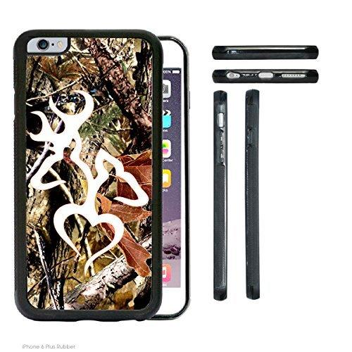 ACCY casi–Reale Albero Camo Buck Buck Bianco Piccolo Cuore iPhone 6Plus Rubber Silicone TPU Cell Phone Case