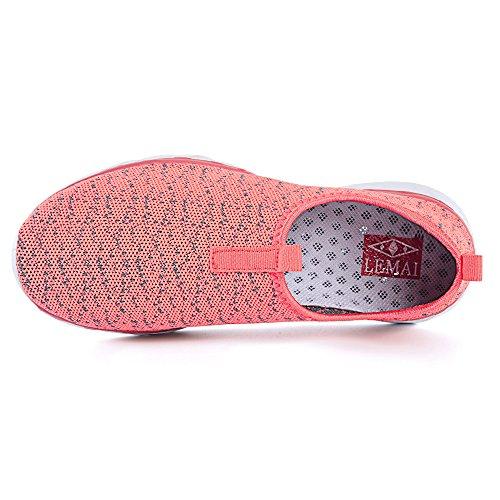 Chaussures Deau Femmes Mesh Mesh Chaussures De Plage Séchage Rapide Rose Rose