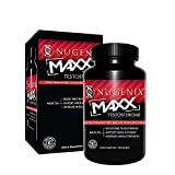 Nugenix Maxx Testosterone - Ultra Premium, Hardcore Men's Testosterone Booster, Clinically Validated - 120 Capsules
