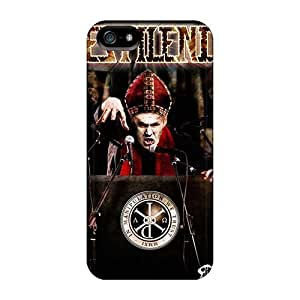 Marycase88 Iphone 5/5s Shock Absorption Cell-phone Hard Covers Unique Design HD Emperor Band Series [PHh12124ajtW]