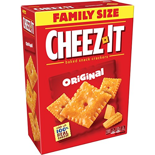 Pack of 3 Family Size Cheez-It Original Baked Snack Cheese Crackers Only $6.71