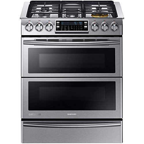 Double Range Dual Fuel - Samsung Appliance NY58J9850WS 30