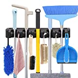 Mop and Broom Holder Wall Mount Heavy Duty Broom
