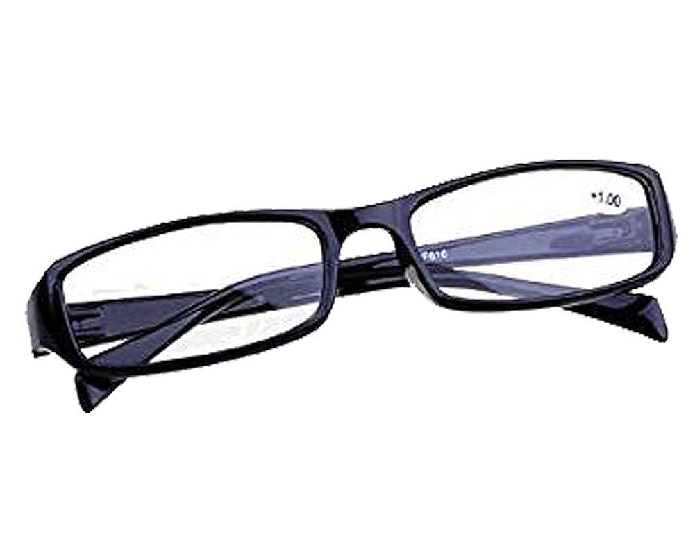 1.00 Diopter Black reading Glasses Readers Presbyopia