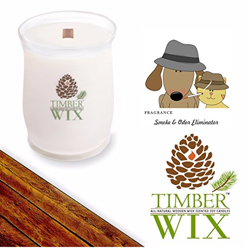 Country Jar Timber Wix Smoke and Odor Eliminator...