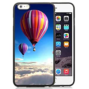 New Personalized Custom Designed For iPhone 6 Plus 5.5 Inch Phone Case For Colorful Hot Air Balloons Over The Clouds Phone Case Cover