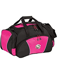 Cherrybrook Pink Dog Breed Embroidered Duffel Bags (All Breeds)