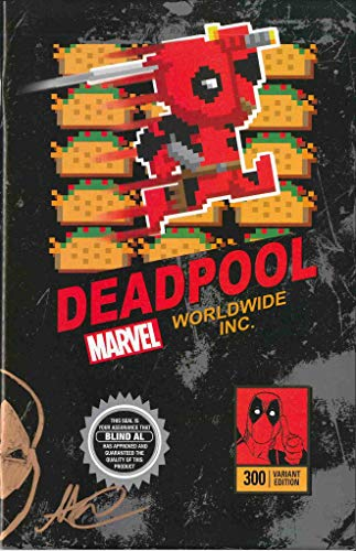 Matthew Waite Signed Despicable Deadpool #300 Variant Video Game Box Cover Comic Book W/Remark! (The Cowboy House COA)