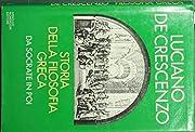 Storia della filosofia greca. I Presocratici…