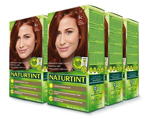 Naturtint Permanent Hair Color - 5C Light Copper Chestnut, 5.28 fl oz (6-pack) -