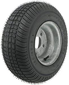 American Tire 3H360 205/65-10 Tire & Wheel (B) 5 Hole / Galvanized