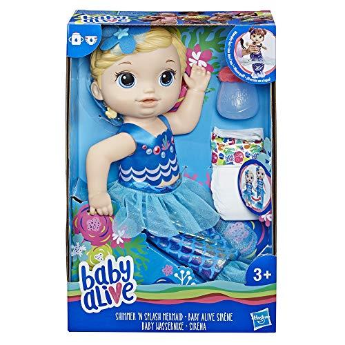 (Baby Alive E3693ES1 Shimmer N Splash Mermaid Figure, Multi-Colour)