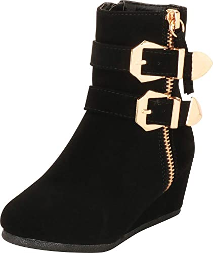 girls wedge ankle boots